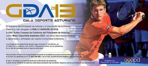 Gimnastur - GALA DEL DEPORTE ASTURIANO 2014 - Federación de Gimnasia del Principado de Asturias