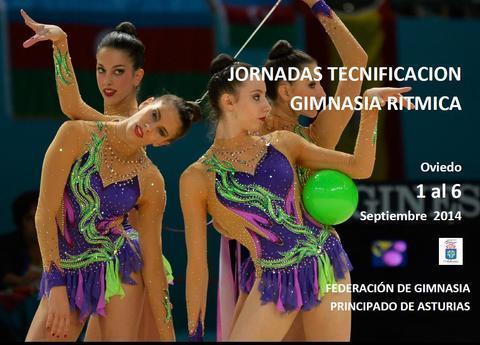 Gimnastur - JORNADAS DE TECNIFICACION GIMNASIA RITMICA - Federación de Gimnasia del Principado de Asturias