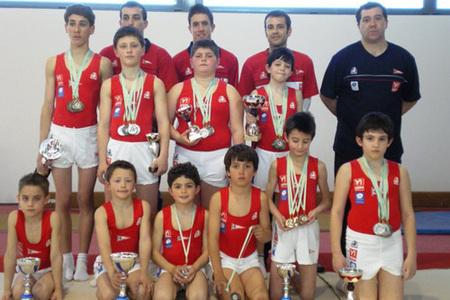 Gimnastur -  Clubes - Federaci�n de Gimnasia del Principado de Asturias